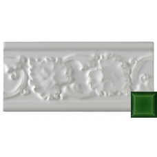 Leaf Moulding Victorian Green 152x76x9mm