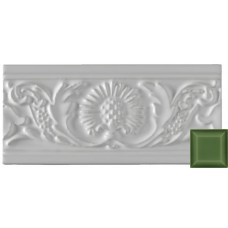 Thistle Moulding Apple Green 152x76x9mm