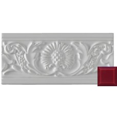 Thistle Moulding Burgundy 152x76x9mm