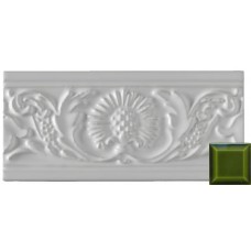 Thistle Moulding Jade Green 152x76x9mm