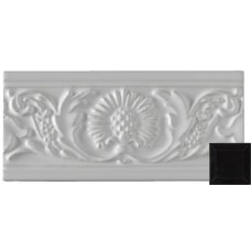 Thistle Moulding Victorian Black 152x76x9mm