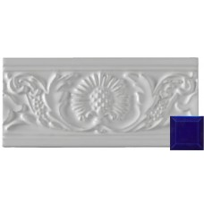 Thistle Moulding Victorian Blue 152x76x9mm