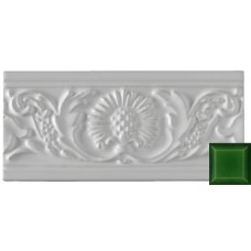Thistle Moulding Victorian Green 152x76x9mm