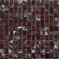 Marble Mosaic Rosso Levanto 15*15 305*305