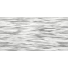 8DWG 3D Wall Wave White Glossy 40x80