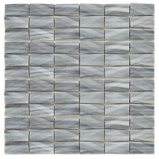 RO03MS410 Mosaico Net Grey 30x30