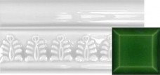 Wheat Sheaf Moulding Victorian Green 152x80x18mm